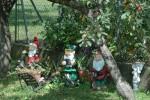 Gartenzwerge zur Einkehr beim Steigenberger