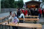 Hungrig geworden - auf Würstel und Bier bei den Sozialdemokraten
