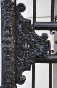 Das Schloß am Gittertor ins Obere Belvedere