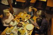 Und dann kam das Essen und aus war´s mit dem Fotografieren