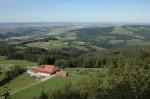 Blick zum Stadelböck und auf die Rudolfshöhe (Ausblickspunkt gleich nach der Stockerhütte)