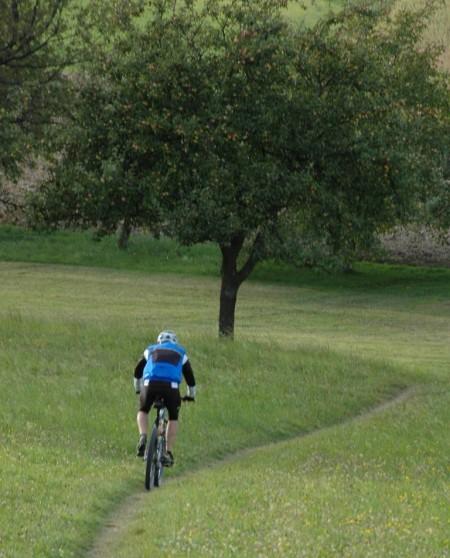 Bei Mountainbikern ist die Gegend sehr beliebt