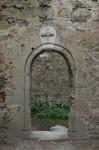 Eingang zur ehem. Burgkapelle