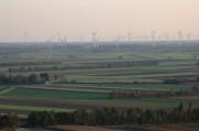 Windräder prägen die Landschaft