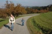 Dirndlstauden - ca. 1/4 des Weges waren Asphaltstraßen