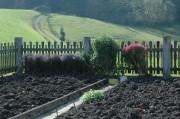 Bauerngarten - vorbereitet für den Winter