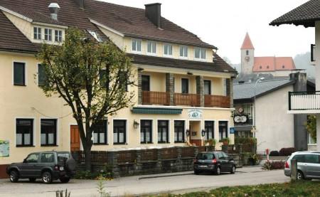 Mein Ausgangspunkt war beim Bahnhof / Gasthof Mahrer