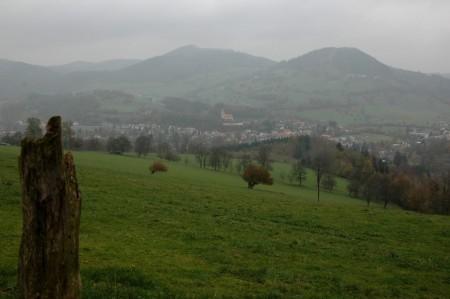 Blick von der Hinterleiten nach Kirchberg