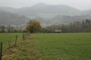 Das letzte Wegstück verlief recht flach und bot einen schönen Blick auf die andere Talseite