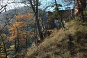 Reste der Burg Schrattenstein