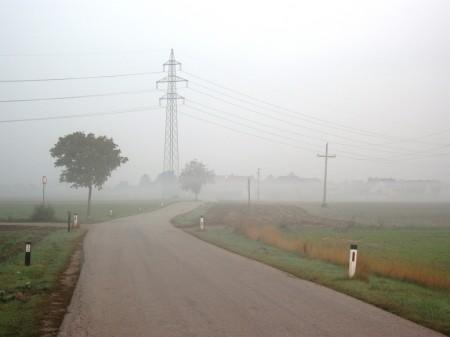 Kurz vor Hennersdorf