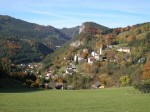 Blick zurück nach Breitenstein