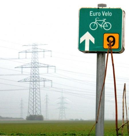 Euro Velo 9 bei Lanzendorf