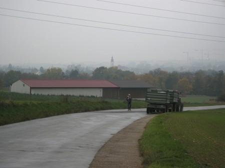 Zufahrtsstraße Unterlaa - Umspannwerk