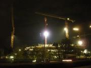 Baustelle des neuen Wellness-Zentrums Oberlaa