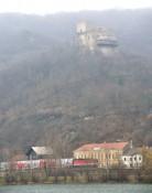Durch Greifenstein fuhren viele Züge