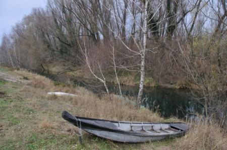 Nur wenige Boote waren im Wasser.