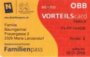 Unsere Niederösterreichische Familienkarte