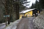 Die Talstation des Muckenkogel Liftes (außer Betrieb)