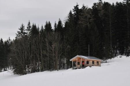 Nochmals die Hütte der Schischule (gefiel mir)