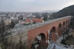 Das Aquädukt am Taleingang