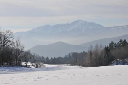 Der Schneeberg (vermute ich)