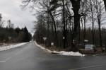 Hier folgten wir nach links der Straße nach Niederhollabrunn