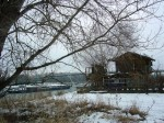 Fischerhütte mit Barbarabrücke