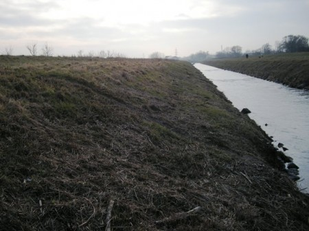 Hier nochmals die Rutschbahn, aufgenommen am 6.2.2009