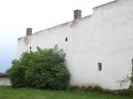 Eine Hausmauer in Lanzendorf
