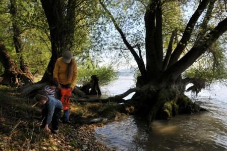 Expedition am Wasser