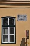 Die MELZERGASSE in Baden