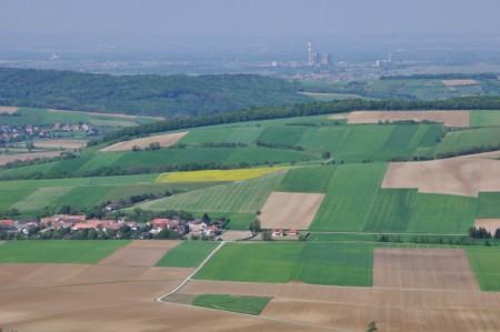 Ausblick vom Turm nach Norden