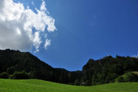 Am Mittwoch fuhren wir durchs Pusta-Tal, besuchten Bruneck und fuhren dann ein Stück ins Ahrntal
