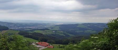 Ausblick von der Stockerhütte nach Norden