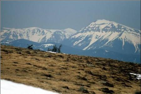 Schneealm (links) und Rax (rechts)