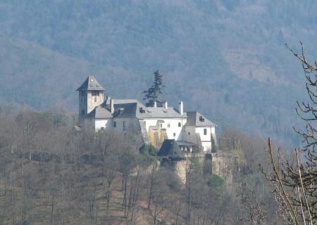 Die Burg Ranna (oberhalb von Spitz)