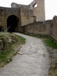 Im äußeren Burghof der Ruine Landstejn