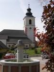 Brunnenplatz in Hochneukirchen