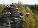 """Der """"Kletterturm"""" der Mönchs- oder Michafelsen"""