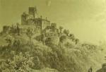 Historische Ansicht - Landstejn schon als Ruine