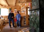 Familie Dworak in der Gföhlberghütte