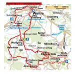 Karte Johannesberg von Weitra oder Großschönau
