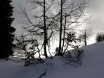 Im Sattel zwischen den Stadelberggipfeln