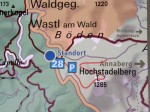 Route Hochstadelberg Backcountry