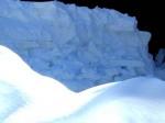 Schneeschichten im Profil