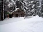 Holzknechthütte hinterm Scheiblingberg