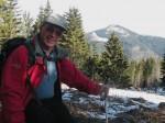 Heutiger Waldrand am Gipfel