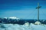 Gipfelkreuz mit Ötscher