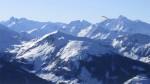 Panorama vom Großglockner bis zum Wiesbachhorn